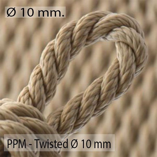 Twisted Ø 10mm.